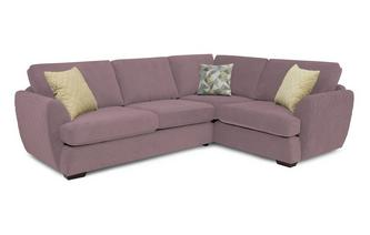 Trilogy Left Hand Facing 2 Seater Corner Sofa Sherbet