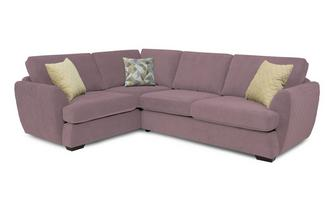 Trilogy Right Hand Facing 2 Seater Corner Sofa Sherbet