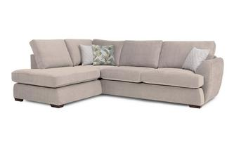 Trilogy Right Hand Facing Arm Open End Corner Sofa Sherbet