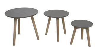 Trio Tafelset met drie tafels