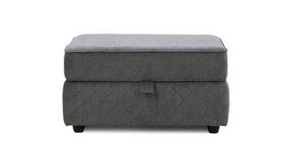 Tryst Large Storage Footstool