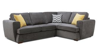 Tryst Left Hand Facing 2 Seater Corner Sofa