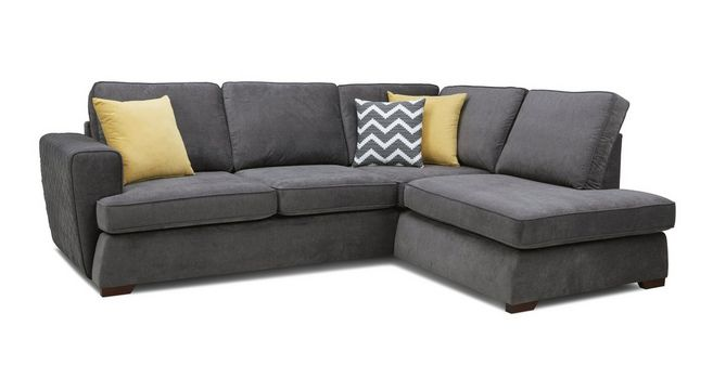 Tryst: Left Hand Facing Arm Open End Corner Sofa