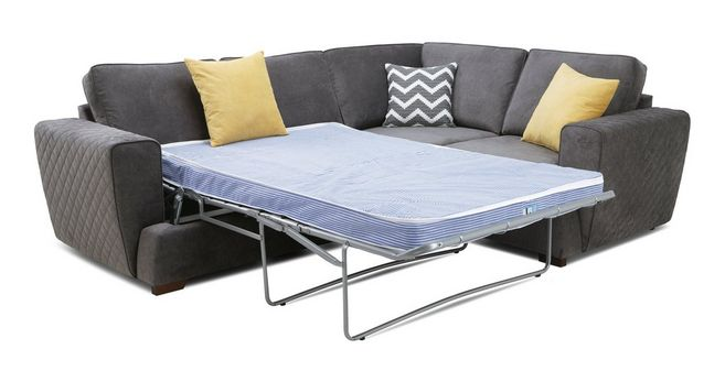 low priced 04e3d a7fd3 Tryst: Left Hand Facing 2 Seater Deluxe Sofa Bed Corner Sofa