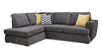 Tryst Right Hand Facing Arm Open End Corner Sofa