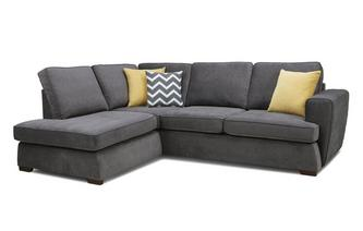 Right Hand Facing Arm Open End Corner Sofa Plaza