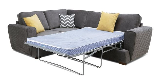 premium selection dd185 3c4b6 Tryst: Right Hand Facing 2 Seater Deluxe Sofa Bed Corner Sofa