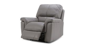 Tula Leather and Leather Look Electric Recliner Chair