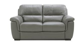 Tula Leather and Leather Look 2 Seater Sofa