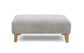 Plain Banquette Footstool Marley
