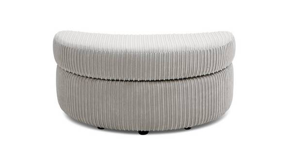 Turner Half Moon Footstool