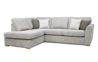 Right Hand Facing Arm Open End Corner Sofa Marley