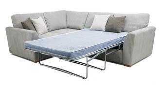 Turner Right Hand Facing 2 Seater Deluxe Corner Sofa Bed