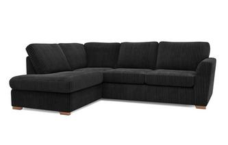 Turner Right Hand Facing Arm Open End Deluxe Corner Sofa Bed Marley