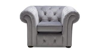 Twille Velvet Armchair