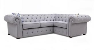 Twille Left Hand Facing Arm 2 Seater Corner Sofa