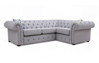 Left Hand Facing Arm 2 Seater Corner Sofa