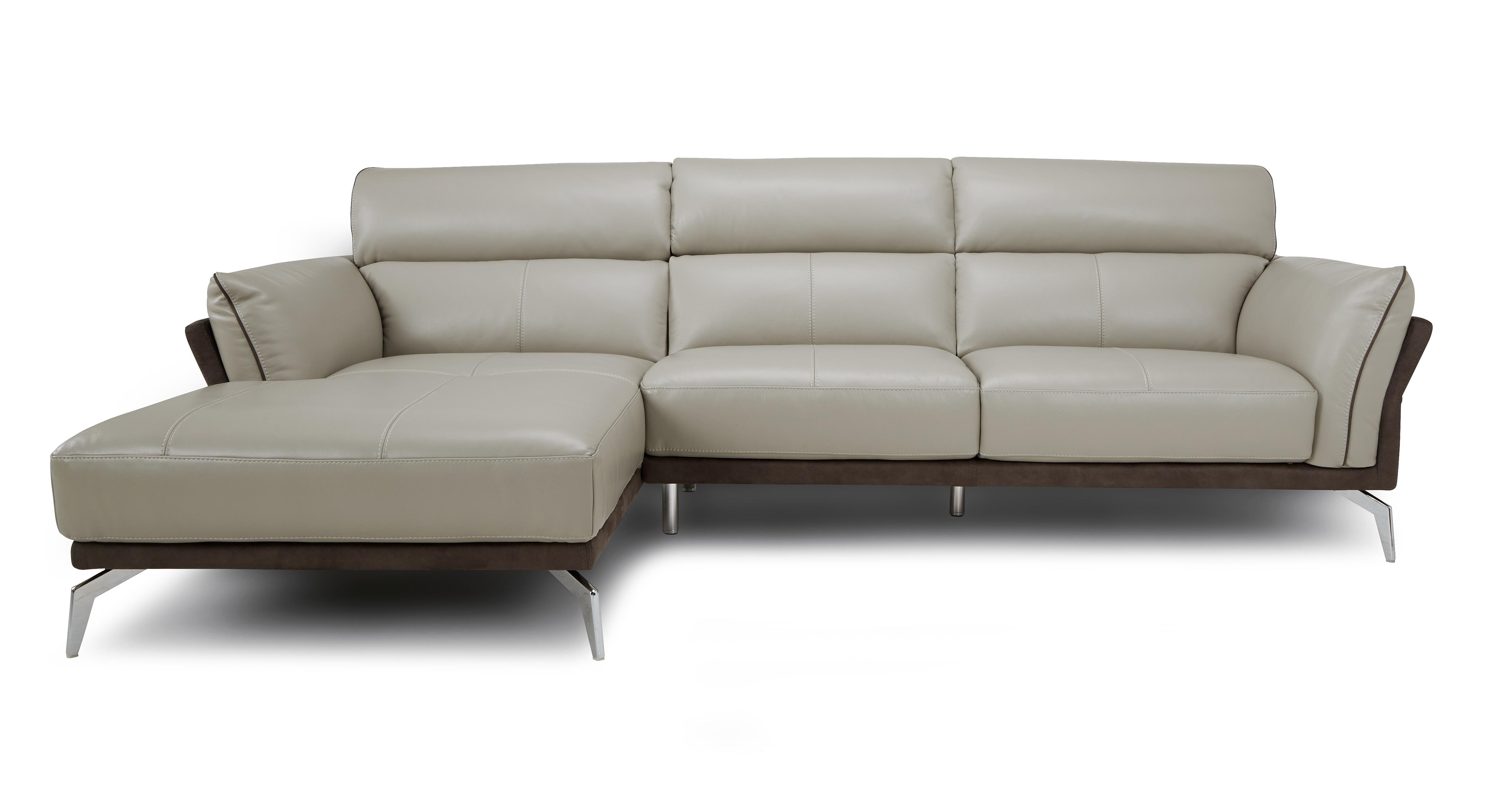 Valdez left hand facing chaise end sofa new club dfs for Chaise end sofa