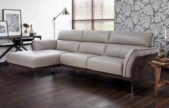 Valdez Left Hand Facing Chaise End Sofa Valdez Showroom