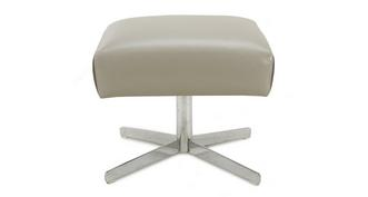 Valdez Swivel Footstool