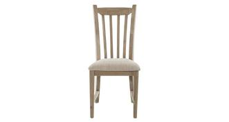 Valencia Dining Chair with Fabric Seat Pad