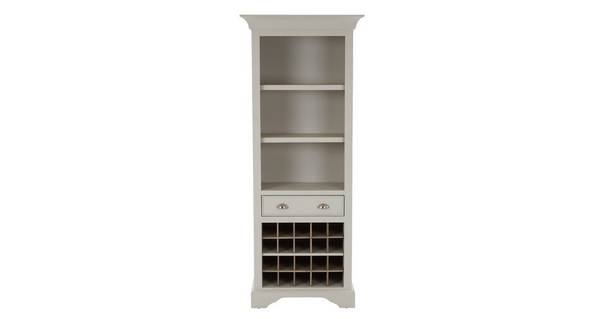 Valencia Tall Wine Rack Bookcase