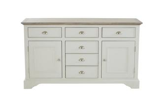 Valencia Large 2 Door 6 Drawer Sideboard Valencia