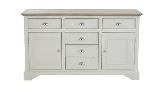 Valencia Large 2 Door 6 Drawer Sideboard