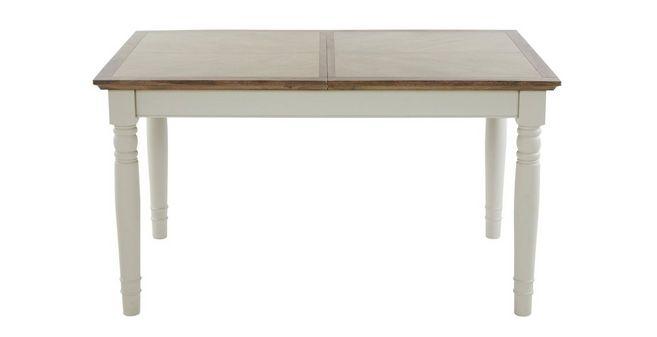 Uitschuifbare Rechthoekige Eettafel.Valencia Rechthoekige Uitschuifbare Tafel