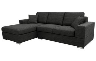 Left Hand Facing Arm 4 Seater Chaise End Sofa