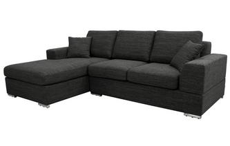 Left Hand Facing Arm 4 Seat Chaise End Storage Sofabed