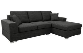 Right Hand Facing Arm 4 Seat Chaise End Storage Sofabed