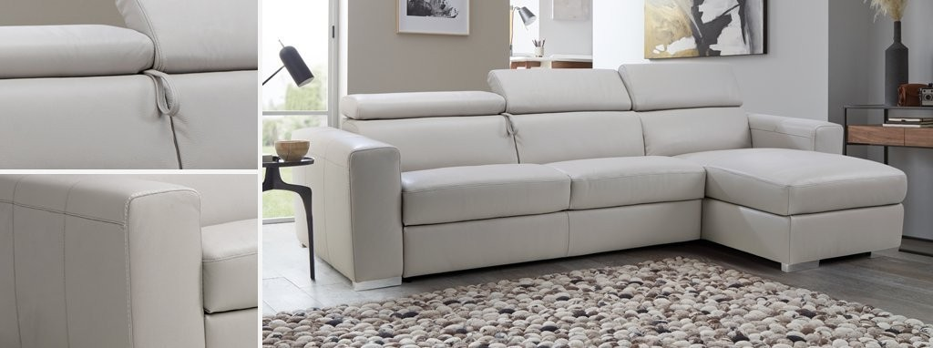Velocity 4 Seater Sofa Bed Lucca Contrast Dfs Ireland