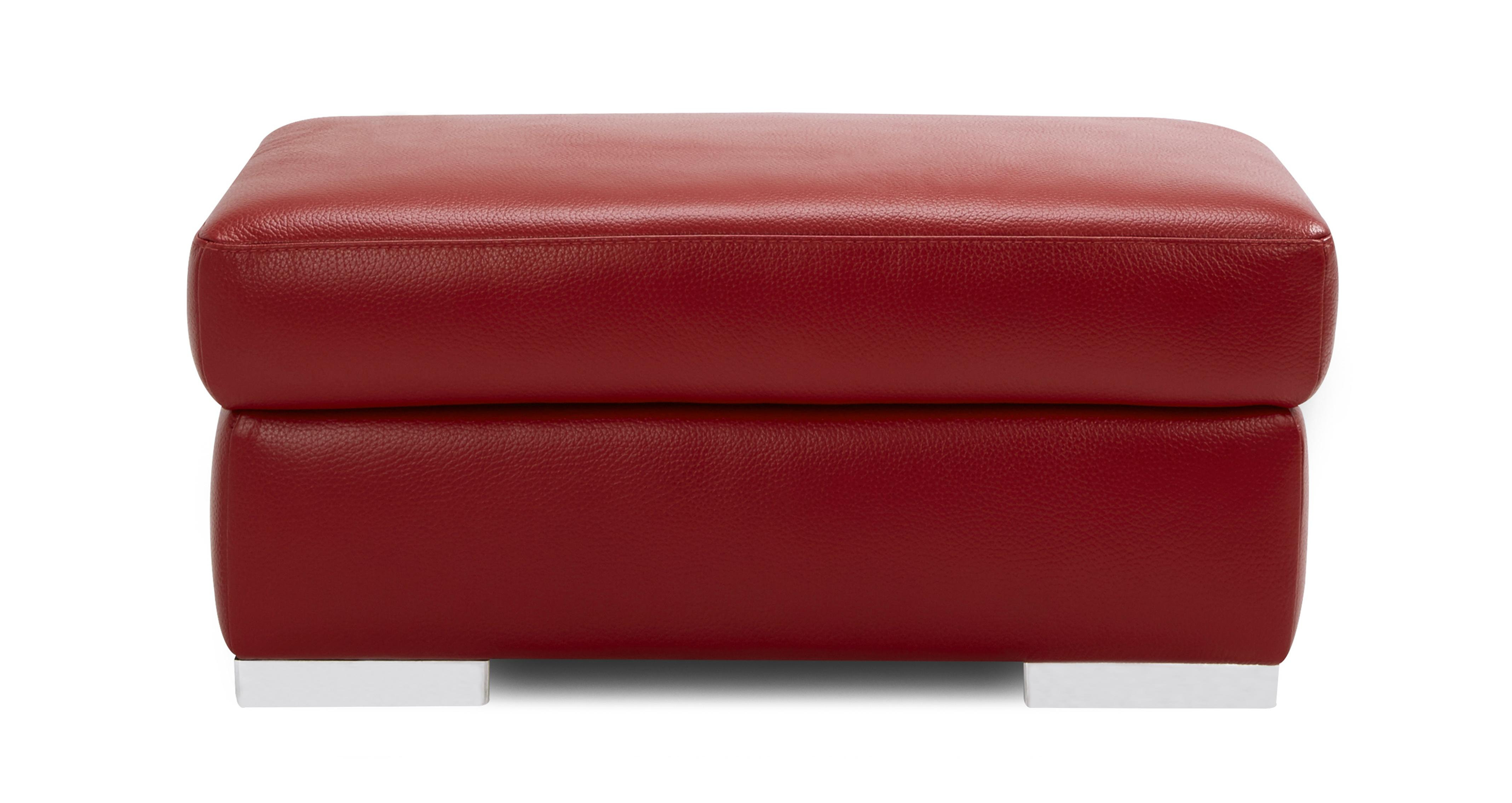 Velocity Large Storage Footstool Lucca Self Dfs