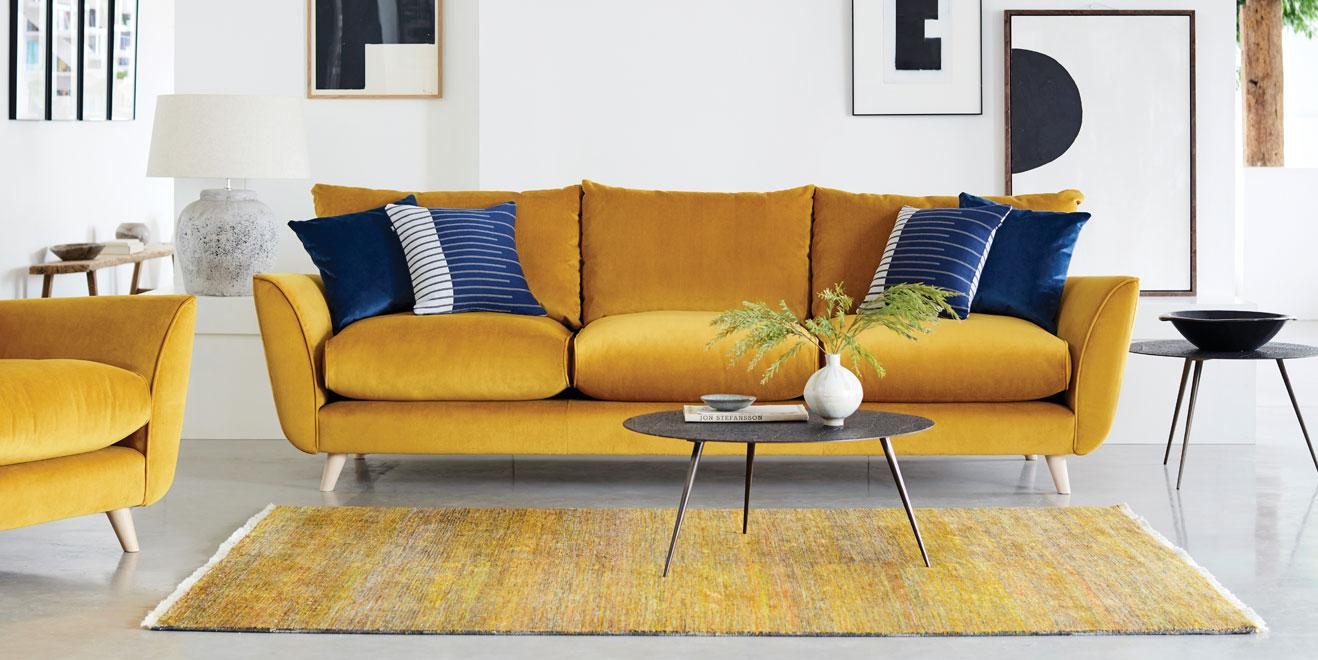 Peachy Velvet Sofas Dfs Alphanode Cool Chair Designs And Ideas Alphanodeonline