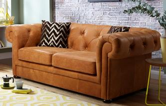Venice 2 Seater Sofa Bed Saddle