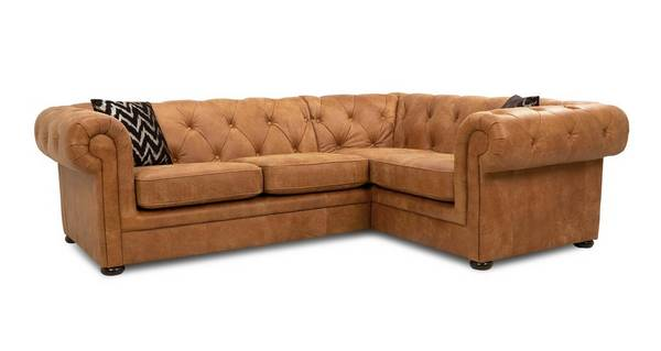 Venice Left Hand Facing Arm 2 Seater Corner Sofa
