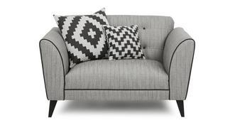 Verve Plain Cuddler Sofa
