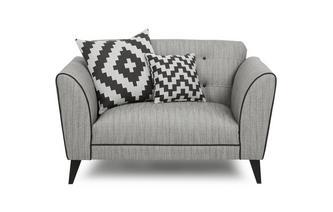 Plain Cuddler Sofa Verve