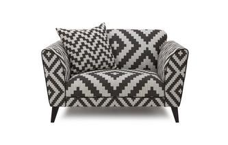 Pattern Cuddler Sofa Verve