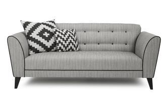Plain 3 Seater Sofa Verve