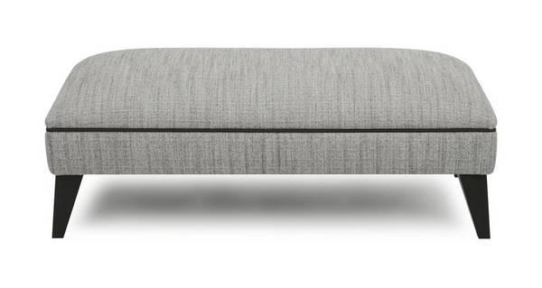 Verve Plain Large Footstool