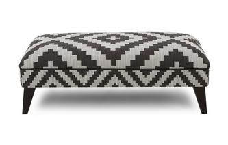 Pattern Large Footstool Verve