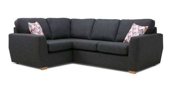 Vesta Right Hand Facing 2 Seater Corner Sofa