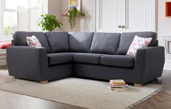 Vesta Right Hand Facing 2 Seater Corner Sofa Revive
