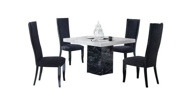 Vienna: Square Table And 4 Oslo Chairs