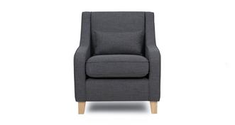 Vision Accent Chair with 1 Plain Bolster