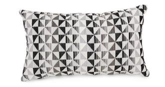 Vision Pattern Bolster Cushion