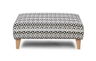 Pattern Banquette Footstool Vision Pattern