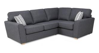 Vision Left Hand Facing 2 Seater Corner Sofa